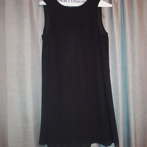 Jessica howard trapeze dress black